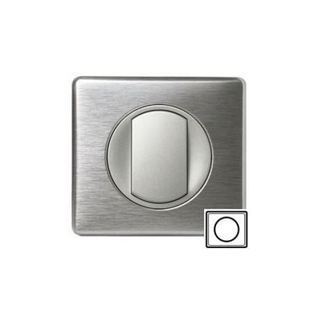 Рамка 1-ная, цвет алюминий, Celiane 68921