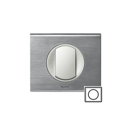 Рамка 1-а, колір фактурна сталь, Celiane, Legrand