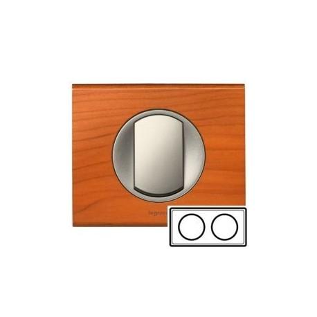 Рамка 2-ная, цвет кедр, Celiane 69172