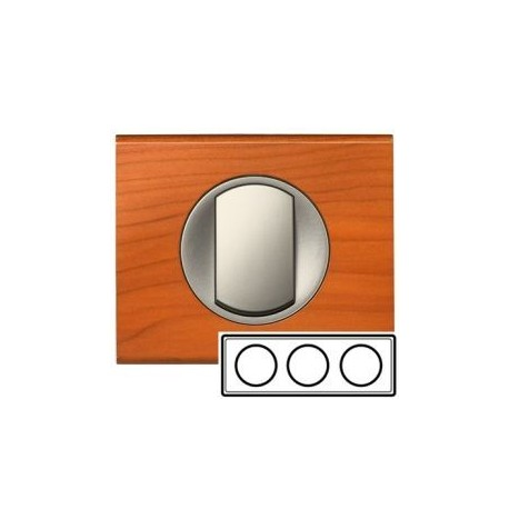 Рамка 3-ная, цвет кедр, Celiane 69173