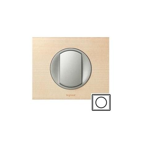 Рамка 1-ная, цвет клён, Celiane 69211