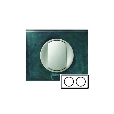Рамка 2-ная, цвет патина-медь, Celiane 69272