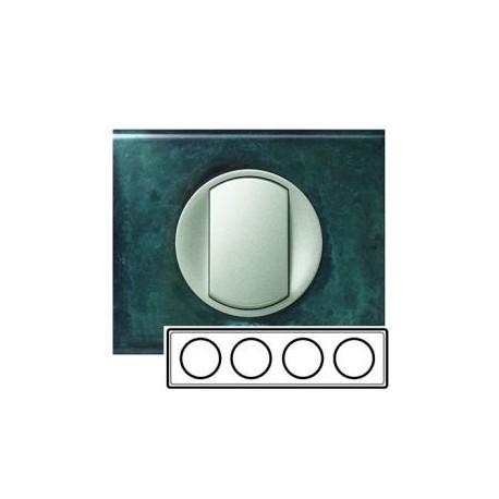 Рамка 4-ная, цвет патина-медь, Celiane 69274