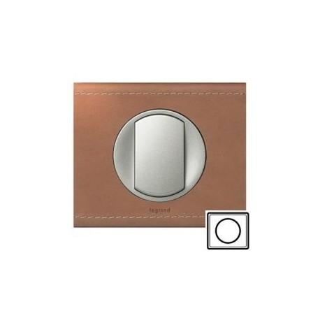 Рамка 1-ная, цвет кожа крем-карамель Celiane 69281