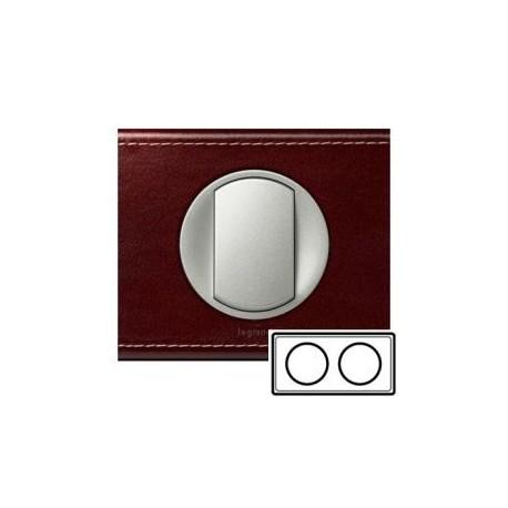 Рамка 2-ная, цвет кожа классик, Celiane 69292