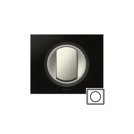 Рамка 1-а, колір смальта графіт, Celiane, Legrand