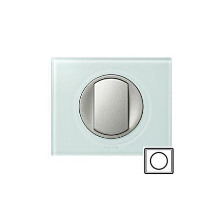 Рамка 1-а, колір смальта-біла глина, Celiane, Legrand