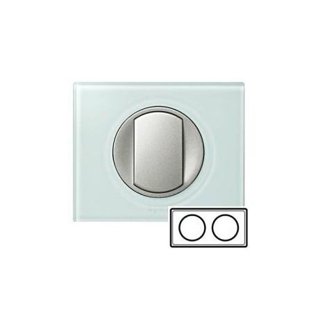 Рамка 2-ная, цвет смальта-белая глина, Celiane 69312