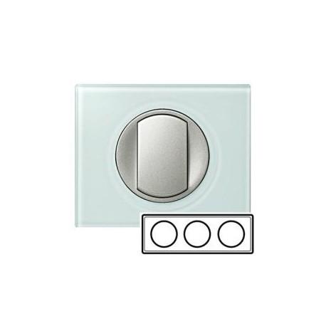 Рамка 3-ная, цвет смальта-белая глина, Celiane 69313