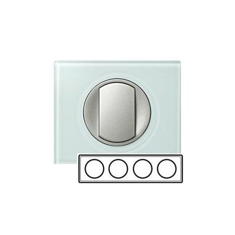Рамка 4-а, колір смальта-біла глина, Celiane, Legrand