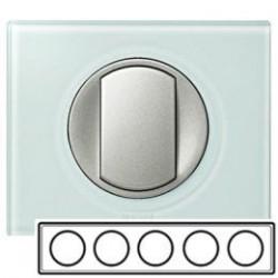 Рамка 5-ная, цвет смальта-белая глина, Celiane 69320