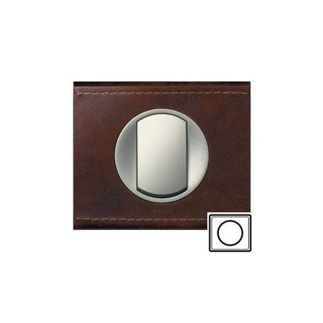Рамка 1-а, колір шкіра коричнева, текстурна, Celiane, Legrand