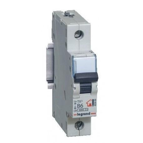 Автоматический выключатель Legrand TX3 6A 1 полюс 6кА
