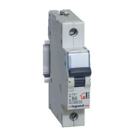 Автоматичний вимикач Legrand TX3 63A 1 полюс 6кА
