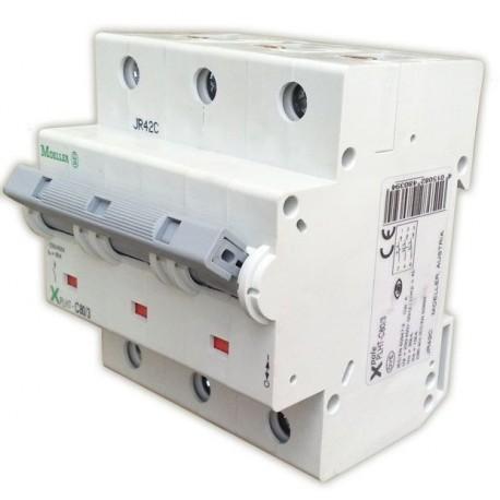 Автоматический выключатель Eaton-Moeller, PLHT-С125/3, 3 полюса, тип C, 125А, 16кА.