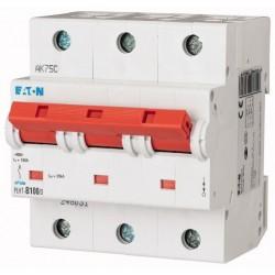 Автоматический выключатель Eaton-Moeller, PLHT-С80/3, 3 полюса, тип C, 80А, 16кА.