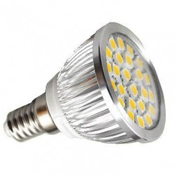 Светодиодная LED лампа 3528 R50 4W 220В 18 SMD E14 4100К
