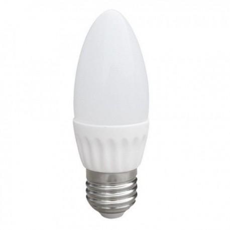 Світлодіодна LED лампа свічка 6W 220 E27 4100К