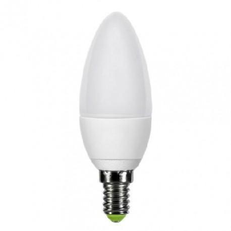 Светодиодная LED лампа свеча 6W 220В E14 4100К