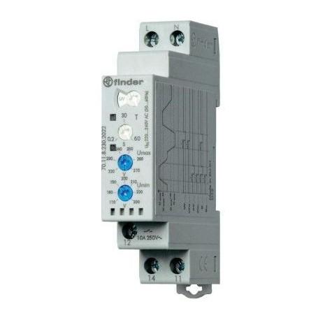 Реле контролю напруги 10A, 220-240В AC, 701182302022 Finder