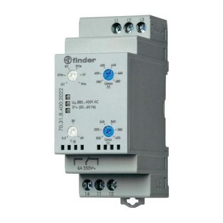 Реле контролю мережі 6A, 380-415В AC, 703184002022 Finder