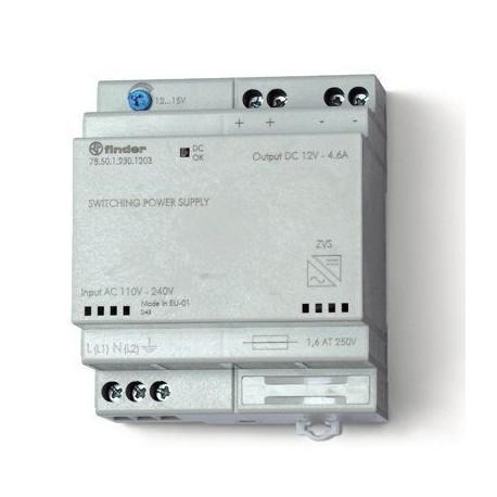 Импульсный источник питания 12-15В DC 50Вт, 785012301203 Finder
