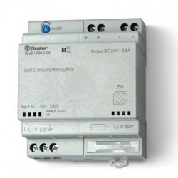 Импульсный источник питания 24-28В DC 60Вт, 786012302403 Finder