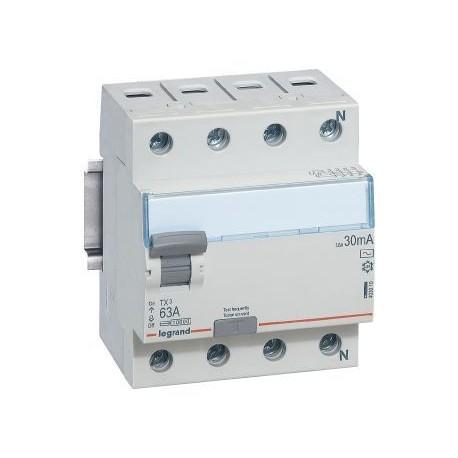 Реле диференційне (ПЗВ) Legrand TX3 4P, 40A 30мА