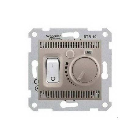Термостат для тёплых полов, цвет титан, Sedna SDN6000368