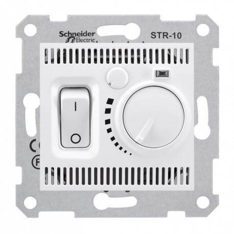 Термостат для теплої підлоги, колір білий, Sedna