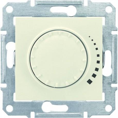 Світлорегулятор, 40-600Вт універсальний, колір слонова кістка, Sedna
