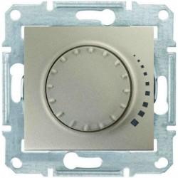 Светорегулятор, 25-325Вт, цвет титан, Sedna