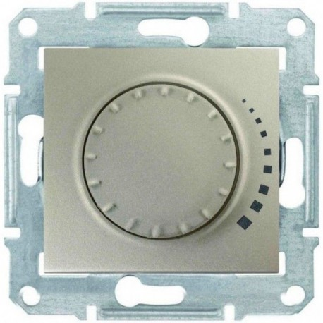 Светорегулятор, 25-325Вт, цвет титан, Sedna SDN2200768