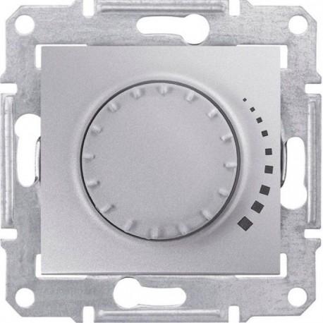 Світлорегулятор, 25-325Вт, колір алюміній, Sedna