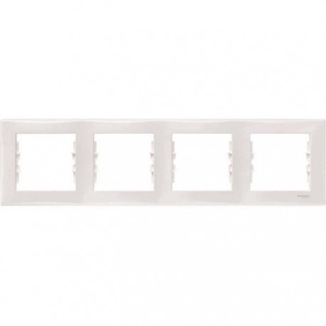 Рамка 4-я, цвет белый, Sedna SDN5800721