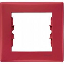 Рамка 1-я, цвет красный, Sedna