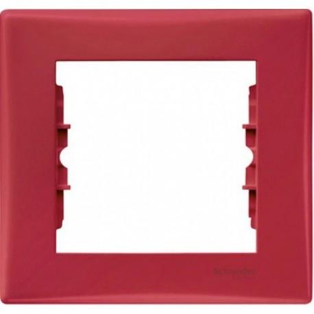 Рамка 1-я, цвет красный, Sedna SDN5800141