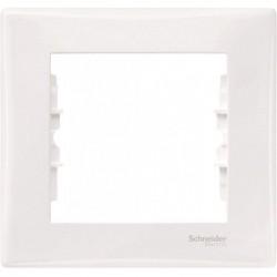 Рамка 1-я, цвет белый, Sedna