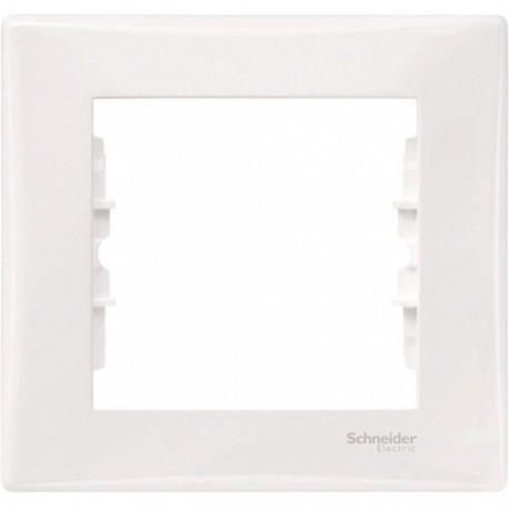 Рамка 1-на, колір білий, Sedna