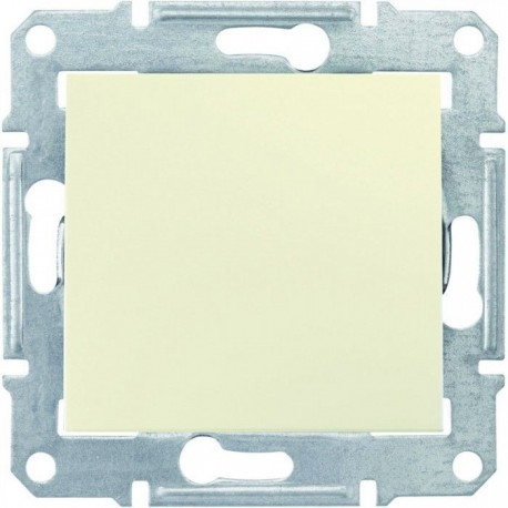Механизм кнопки 1-кл., цвет слоновая кость, Sedna SDN0700123