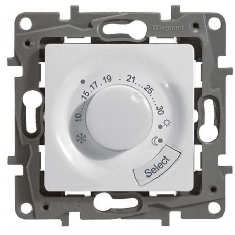 Термостат для тёплых полов, цвет белый, Legrand Etika 672230