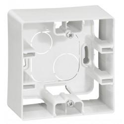 Коробка для накладного монтажа, 1-ная, цвет белый, Legrand Etika