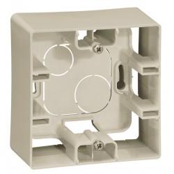 Коробка для накладного монтажа, 1-ная, цвет слоновая кость, Legrand Etika