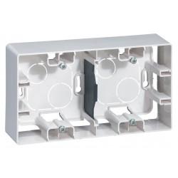 Коробка для накладного монтажа, 2-ная, цвет белый, Legrand Etika
