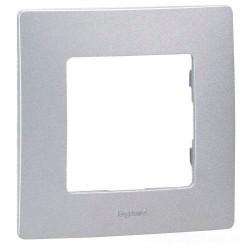 Рамка 1-я, цвет алюминий, Legrand Etika
