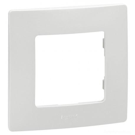 Рамка 1-я, цвет белый, Legrand Etika 672501