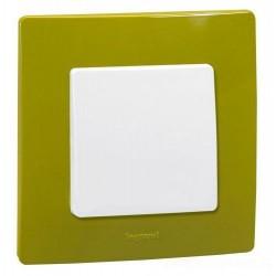Рамка 1-я, цвет зеленый папоротник, Legrand Etika