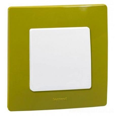 Рамка 1-я, цвет зеленый папоротник, Legrand Etika 672541