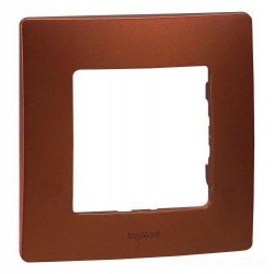 Рамка 1-я, цвет какао, Legrand Etika 672571