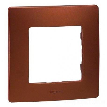 Рамка 1-а, колір какао, Legrand Etika